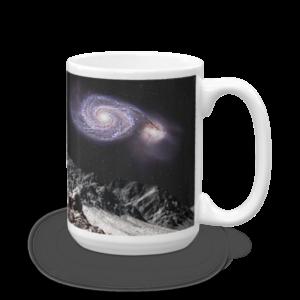 """Whirlpool Moon"" Astro Art Mug"