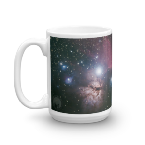 Horsehead and Flame Nebula Mug